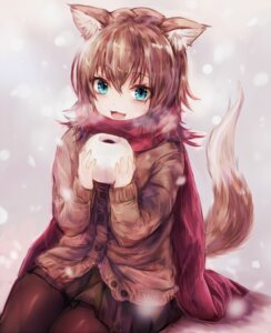 Rating: Safe Score: 65 Tags: animal_ears pantyhose sukemyon sweater tail User: Mr_GT