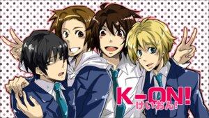 Rating: Safe Score: 6 Tags: akiyama_mio genderswap hirasawa_yui kiu k-on! kotobuki_tsumugi male seifuku tainaka_ritsu User: yumichi-sama