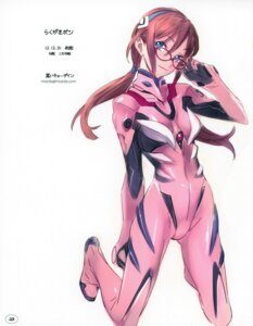 Rating: Safe Score: 40 Tags: bodysuit makinami_mari_illustrious megane neon_genesis_evangelion nishieda User: Radioactive