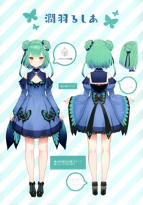Rating: Safe Score: 15 Tags: character_design hololive kamikire_basami uruha_rushia yasuyuki User: Arsy