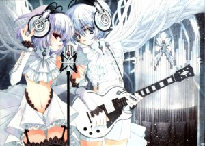 Rating: Safe Score: 38 Tags: guitar headphones lolita_fashion rami scanning_dust User: Azarel