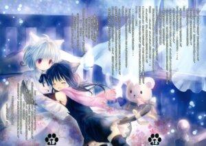 Rating: Safe Score: 7 Tags: animal_ears dress nekomimi nick-ninth onineko tail User: misuzu'wing