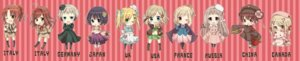 Rating: Safe Score: 5 Tags: america canada chibi china dress france genderswap germany hetalia_axis_powers japan kazuneko_bimoe north_italy russia south_italy united_kingdom User: Radioactive