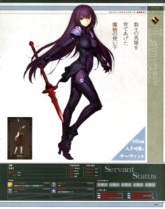 Rating: Questionable Score: 73 Tags: armor bodysuit fate/grand_order heels koyama_hirokazu scathach_(fate/grand_order) thighhighs type-moon weapon User: drop