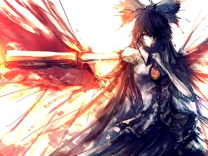 Rating: Safe Score: 23 Tags: iori_(yakata-bako) reiuji_utsuho touhou User: Radioactive