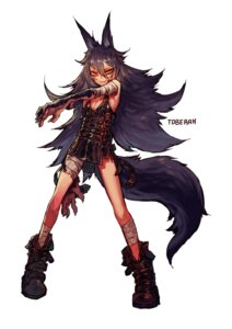 Rating: Safe Score: 11 Tags: animal_ears bandages dress tail toberan User: charunetra