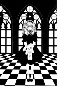 Rating: Safe Score: 7 Tags: dress monochrome mother_keeper sorano_kairi User: charunetra