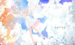 Rating: Safe Score: 9 Tags: dress hatsune_miku manda_chomesuke vocaloid User: Zenex