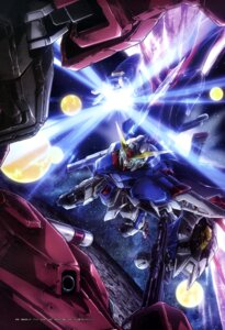 Rating: Safe Score: 6 Tags: destiny_gundam gun gundam gundam_seed gundam_seed_destiny infinite_justice_gundam mecha User: drop