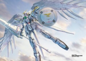 Rating: Safe Score: 11 Tags: gundam gundam_wing mecha weapon wing_gundam_zero wings User: koo35