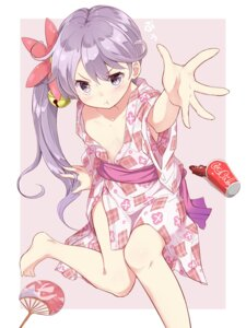 Rating: Questionable Score: 41 Tags: akebono_(kancolle) hamaken kantai_collection loli no_bra open_shirt yukata User: Mr_GT