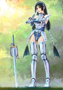 Rating: Safe Score: 32 Tags: armor darkmuleth sword thighhighs User: Radioactive
