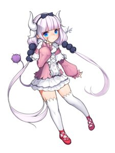 Rating: Questionable Score: 18 Tags: dk2 horns kanna_kamui kobayashi-san_chi_no_maid_dragon tail thighhighs User: gnarf1975