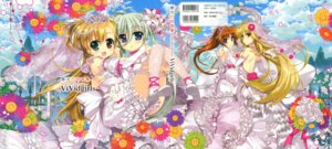 Rating: Safe Score: 27 Tags: dress einhart_stratos fate_testarossa fujima_takuya heterochromia mahou_shoujo_lyrical_nanoha mahou_shoujo_lyrical_nanoha_vivid takamachi_nanoha thighhighs vivio wedding_dress User: crim