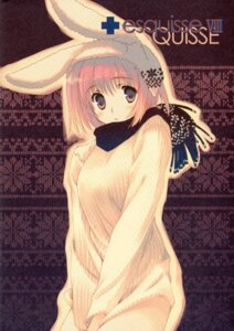 Rating: Safe Score: 21 Tags: animal_ears bunny_ears cut_a_dash!! mitsumi_misato paper_texture User: admin2