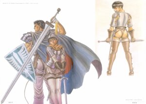 Rating: Questionable Score: 5 Tags: berserk casca guts miura_kentarou User: Umbigo