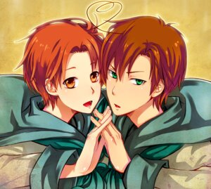 Rating: Safe Score: 3 Tags: hetalia_axis_powers male north_italy south_italy zxs1103 User: charunetra