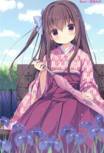 Rating: Safe Score: 61 Tags: japanese_clothes miyasaka_miyu umbrella User: Twinsenzw