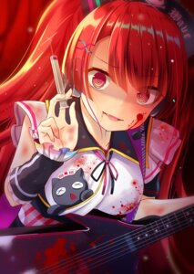 Rating: Safe Score: 13 Tags: akiraon blood guitar nurse sound_voltex User: Humanpinka