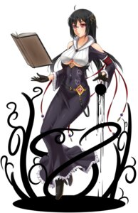 Rating: Safe Score: 55 Tags: cleavage dress heels megane midnight underboob witch User: Recksio