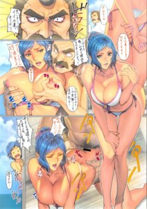Rating: Explicit Score: 31 Tags: ass bikini breast_grab breasts censored cleavage fool's_art_gallery gundam gundam_build_fighters homare iori_rinko iori_sei nipples ral-san sex swimsuits User: Radioactive