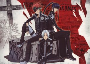 Rating: Safe Score: 6 Tags: allen_walker d.gray-man eyepatch kanda_yu lavi male screening User: snotna