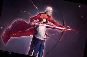Rating: Safe Score: 9 Tags: archer emiya_shirou fate/stay_night linjie male User: Radioactive