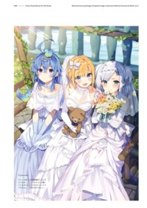 Rating: Safe Score: 27 Tags: dress mishima_kurone rokudenashi_majutsu_koushi_to_kinki_kyouten rumia_tingel ryiel_rayford sistina_fibel wedding_dress User: kiyoe