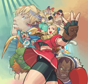 Rating: Questionable Score: 14 Tags: balrog blanka bra cammy_white capcom chun_li cody_travers crossover edayan edmond_honda final_fight hibiki_dan juli juni kanzuki_karin kasugano_sakura leotard mike_bison pantsu rainbow_mika rival_schools seifuku skirt_lift street_fighter sword uniform vega User: Radioactive