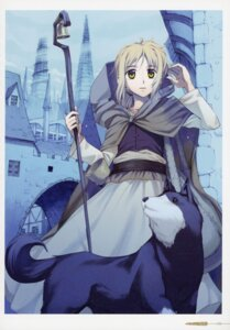 Rating: Safe Score: 8 Tags: koume_keito nora_arendt spice_and_wolf User: kiyoe