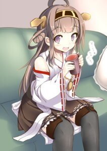Rating: Safe Score: 36 Tags: atuuy kantai_collection kongou_(kancolle) thighhighs User: 椎名深夏
