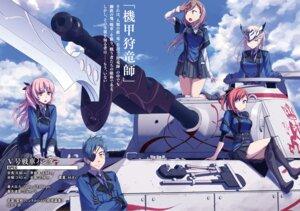 Rating: Safe Score: 12 Tags: eyepatch heels himura_kiseki uniform User: kiyoe