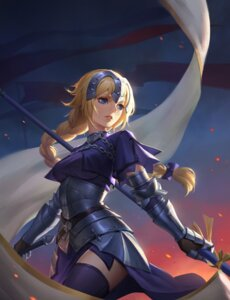 Rating: Safe Score: 31 Tags: armor fate/apocrypha fate/grand_order fate/stay_night jeanne_d'arc jeanne_d'arc_(fate) jun_luo sword thighhighs weapon User: Mr_GT