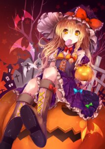 Rating: Safe Score: 52 Tags: halloween kirisame_marisa sakura_ran touhou witch User: ddns001