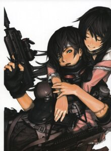 Rating: Safe Score: 9 Tags: gun takahashi_takehisa User: suika123