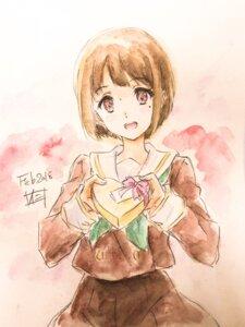 Rating: Safe Score: 13 Tags: hibike!_euphonium nakaseko_kaori nii_manabu seifuku sketch valentine User: Spidey