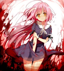 Rating: Questionable Score: 55 Tags: blood dress gakkou_gurashi! hisaka_hazara sakura_megumi see_through User: Mr_GT