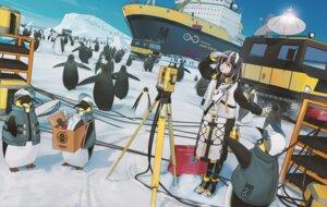 Rating: Safe Score: 11 Tags: arknights magallan_(arknights) penguin ttk_(kirinottk) User: Mr_GT