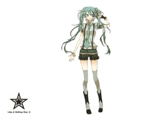 Rating: Safe Score: 22 Tags: buzz hatsune_miku like_a_rolling_star_(vocaloid) thighhighs vocaloid wallpaper User: anaraquelk2