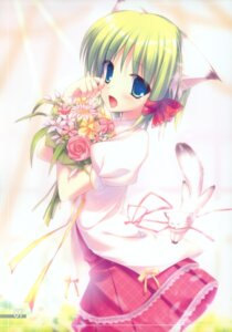 Rating: Safe Score: 47 Tags: animal_ears empathy fujisaki_rei midori neko nekomimi User: midzki