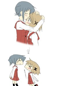 Rating: Safe Score: 8 Tags: hidamari_sketch kyousuke_(artist) nori yuno User: Radioactive