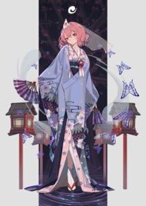 Rating: Safe Score: 27 Tags: kimono saigyouji_yuyuko touhou xtears_kitsune User: Mr_GT