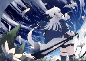 Rating: Questionable Score: 73 Tags: animal_ears garter nagishiro_mito pantsu sword tail thighhighs User: blooregardo