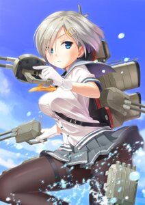 Rating: Questionable Score: 67 Tags: garter gogo_shichi-ji gun hamakaze_(kancolle) kantai_collection pantsu pantyhose seifuku User: fairyren