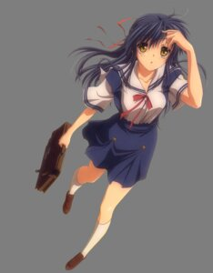 Rating: Safe Score: 9 Tags: clannad sagara_misae seifuku transparent_png User: hirotn
