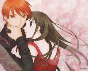 Rating: Safe Score: 5 Tags: fruits_basket honda_tohru sohma_kyo takaya_natsuki User: Radioactive