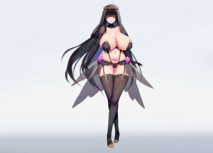 Rating: Questionable Score: 31 Tags: cameltoe heels kcccc lingerie no_bra pantsu stockings tattoo thighhighs User: popcorn1239