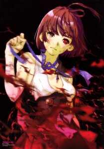 Rating: Questionable Score: 40 Tags: koutetsujou_no_kabaneri mikimoto_haruhiko mumei no_bra torn_clothes User: drop