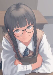 Rating: Safe Score: 28 Tags: kamo megane seifuku sweater User: saemonnokami