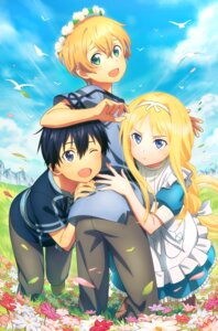 Rating: Safe Score: 24 Tags: alice_schuberg dress eugeo kirito sword_art_online_alicization tagme User: 桐须真冬